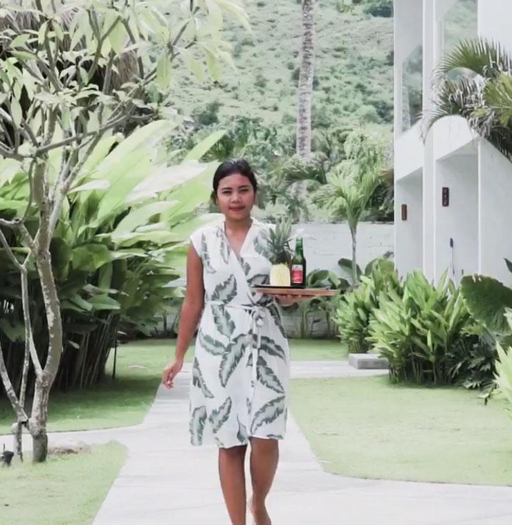 Staf of Sikara Lombok Hotel